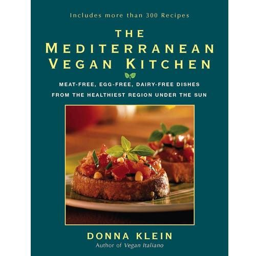 The Mediterranean Vegan Kitchen Cookbook