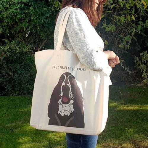 PETure Perfect's Personalised Canvas Shopping Tote