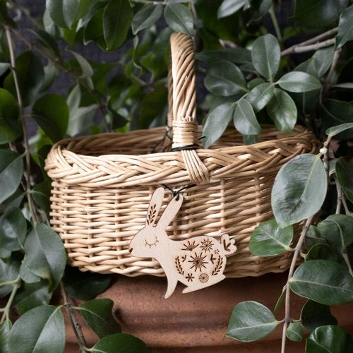 Personalised Wicker Easter Basket