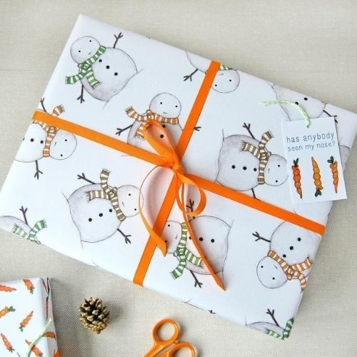FSC Certified Christmas Wrapping Paper