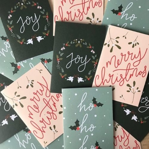 Handwritten Christmas Card Pack