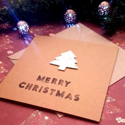 Plantable Seed Paper Christmas Cards