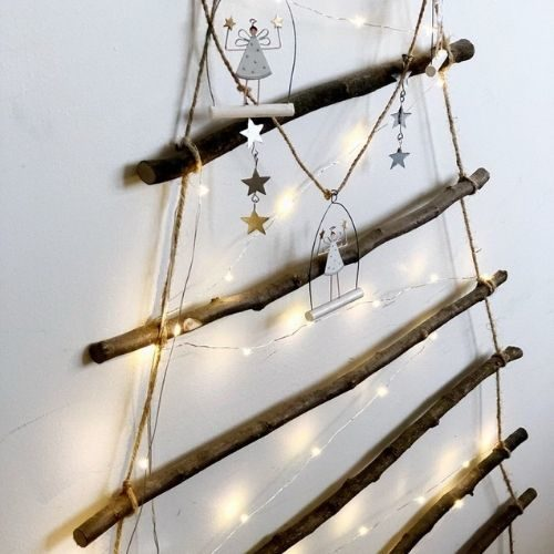Wooden Hand Crafted Christmas Tree